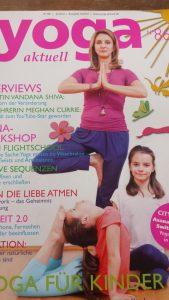 Padme Jooles in der Zeitschrift Yoga aktuell 3 2014